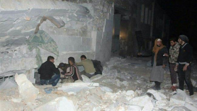 Photo of Satanic US airstrike on Aleppo mosque kills 42 worshipers