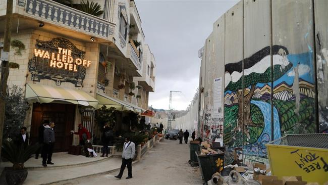 Photo of IN PHOTOS: 'Walled Off' Hotel opens in West Bank