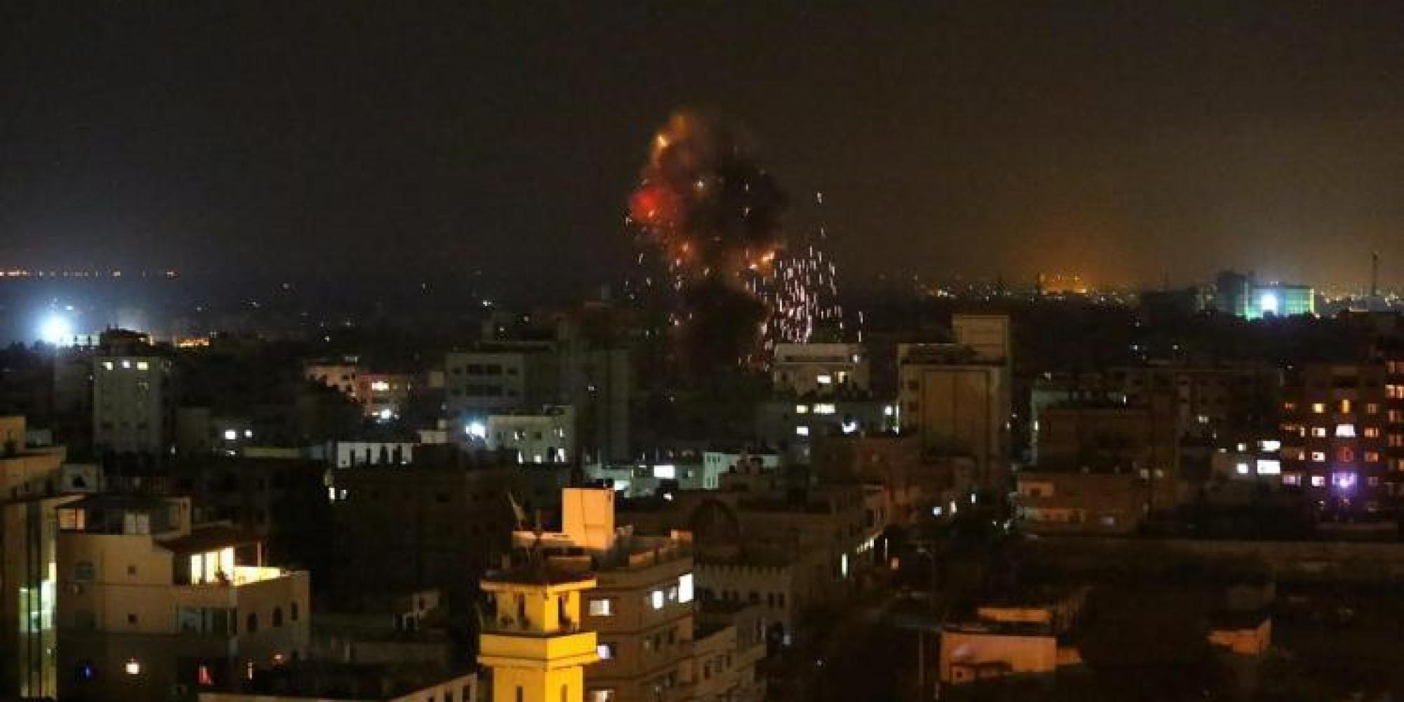 Photo of Enemy of Islam Zionist israel's Air Force Strikes Gaza