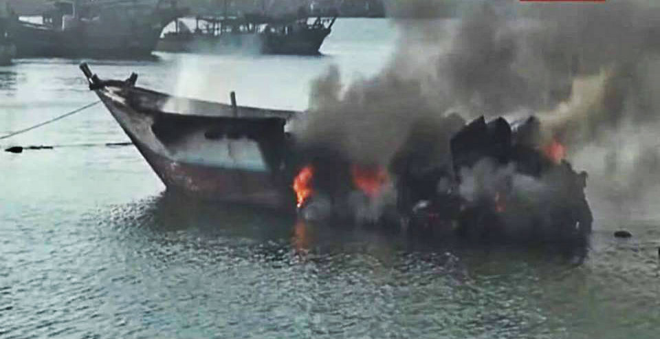 Photo of Saudi airstrike leaves seven Yemeni fishermen dead