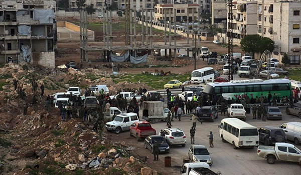 Photo of Security Restored to Vast Regions in Western Damascus After Militants' Full Evacuation