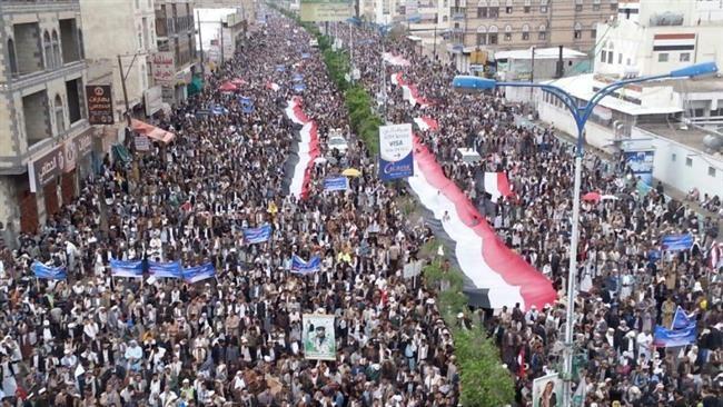 Photo of VIDEO: 1000s Take Part in Anti-Saudi Protests in Yemen's Sana'a