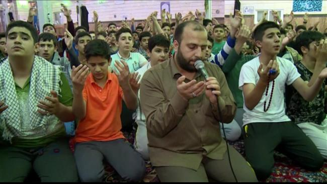 Photo of Iranians hold Itikaf religious ceremony