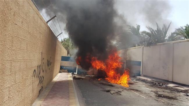 Photo of Watch: Bahraini regime forces fire tear gas at protesters in northern village