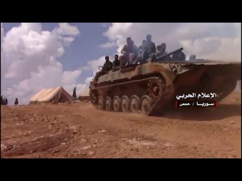 Photo of Video footage of Syrian Army troops liberating new territory in northeast Homs