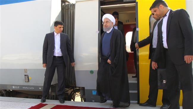 Photo of Crucial rail link inaugurated in western Iran