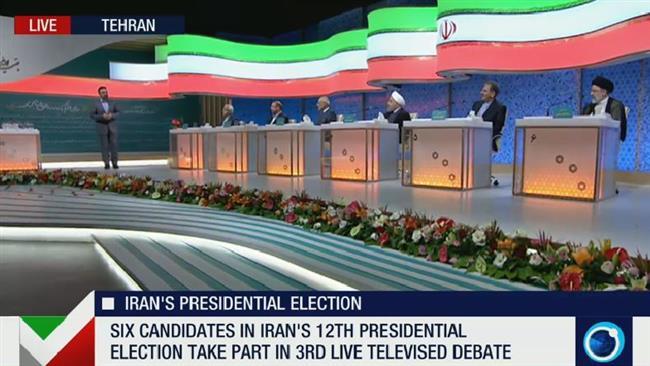 Photo of Iran presidential candidates begin final live TV debate