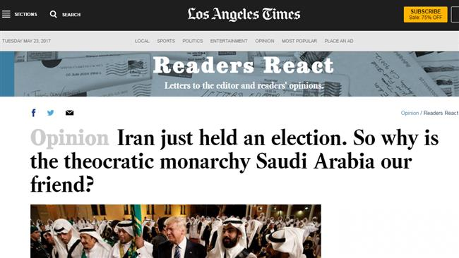 Photo of Americans ask: Why is Saudi (gulf dictators') monarchies our friend, but not Iran?
