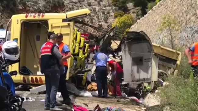 Photo of Bus accident kills 23, injures 11 in Turkey's south