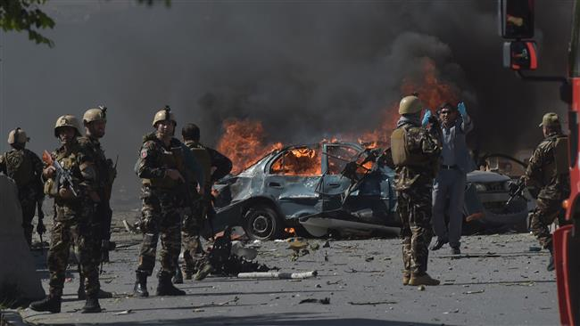 Photo of Massive car bomb blast rocks Afghanistan capital, 349 people dead,injured