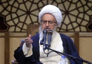 Photo of Ayatollah Shirazi slams Manama for attacking Sheikh Qassim's house