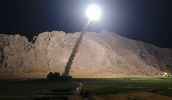 Photo of IRGC Commander: Online Footages of Missile Strike at ISIL Sent to Iran by Drones