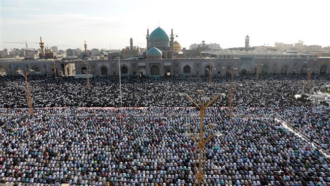 Photo of Millions of Iranians mark Eid al-Fitr with prayers