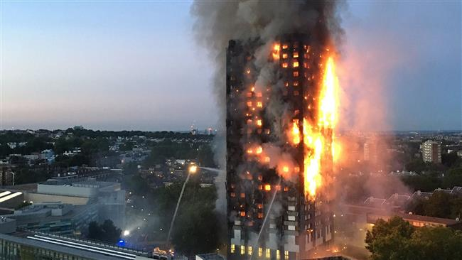 Photo of London's Grenfell Tower blaze killed 500 residents: Local resident