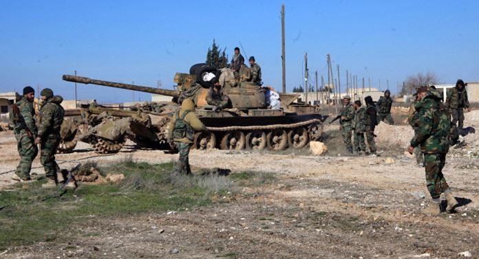 Photo of Fierce clashes break-out in northwest Aleppo