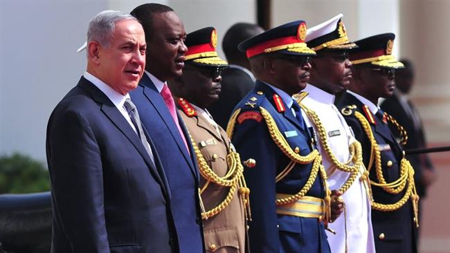 Photo of Butcher Netanyahu in Africa with many question marks