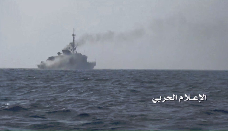 Photo of Yemeni Forces Hit zionist Saudi-led Warship off Taiz Coast