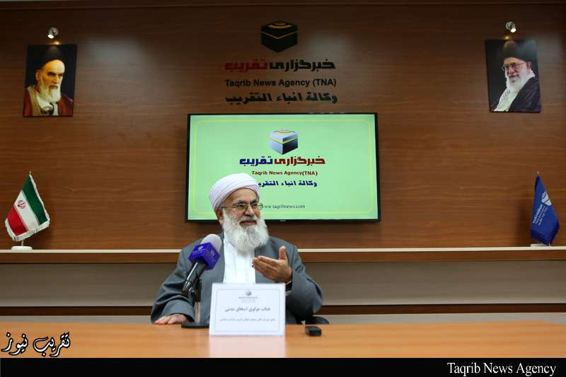Photo of Sunni cleric stresses elevated role of Imam Khomeini in promoting unity
