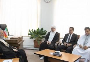 Photo of Head of Iranian seminaries receives Syrian, Tunisian clerics