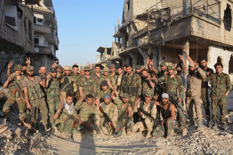 Photo of Terrorits flung-back hard in the face of Syrian Army onslaught