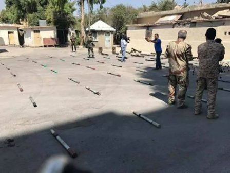 Photo of Syrian Army confiscates big weapons shipment to jihadists in western Qalamoun