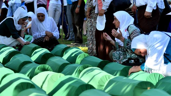 Photo of Thousands pay tribute to Muslim victims of 1995 Srebrenica massacre