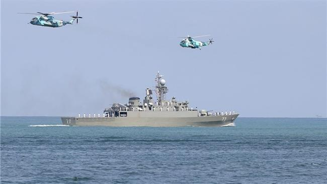 Photo of Iran Navy holds military drills in Caspian Sea