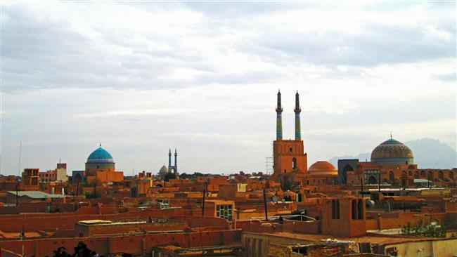 Photo of Iran's historic Yazd city inscribed on UNESCO World Heritage List