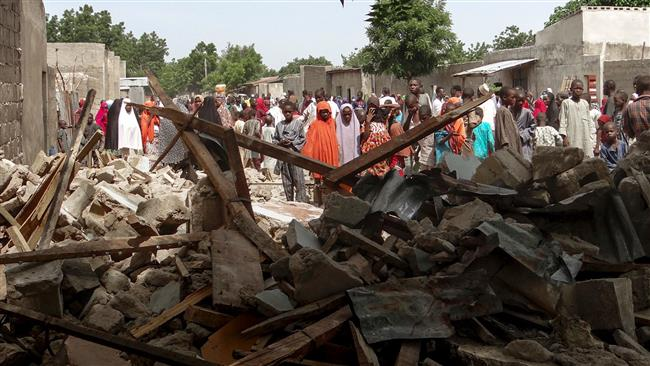 Photo of Bombers attack two camps in northeast Nigeria, kill 8