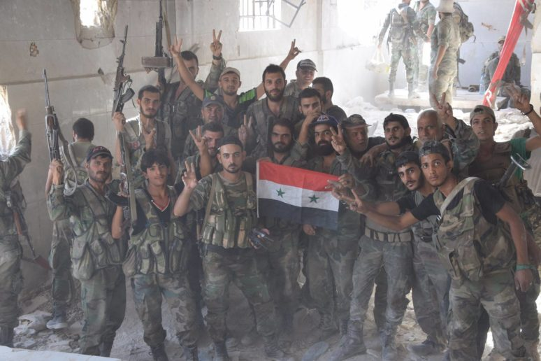 Photo of Photos- Syrian Army in high spirits as east Damascus offensive yields more gains