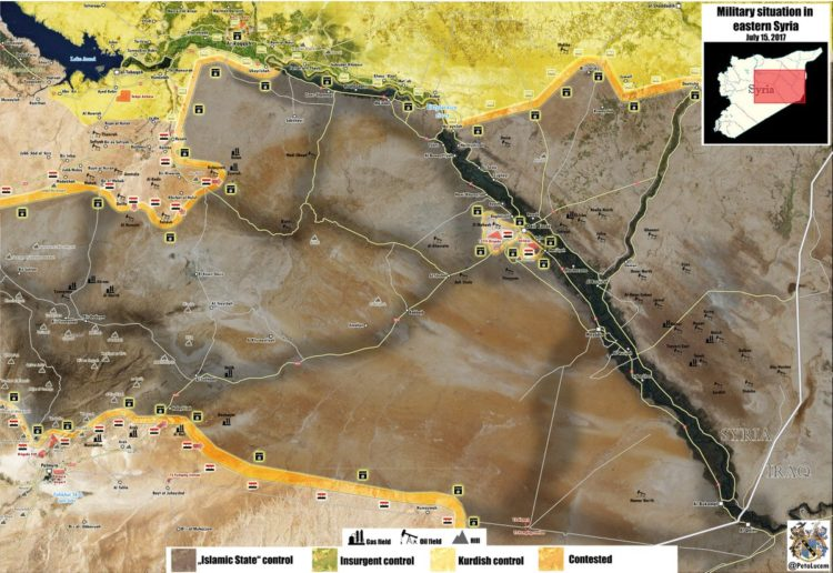Photo of Battle for central Syria heats up as the Syrian Army enters ISIL's heartland: map