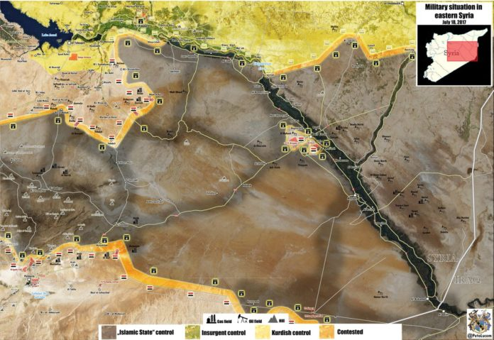 Photo of Syria: Map update of battle for Deir Ezzor