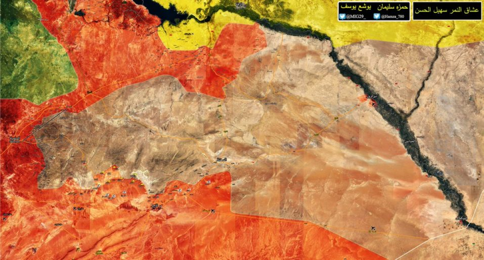 Photo of Syrian Army eyes Deir Ezzor as they advance in southeast Raqqa: map