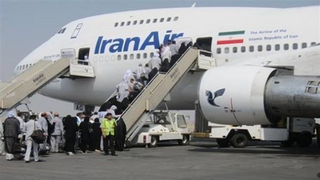 Photo of Iran flies 1st group of pilgrims since Saudi row