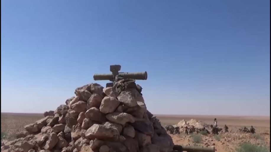 Photo of ISIL forces devastated by the Syrian Army in east Homs