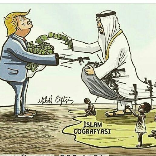 Photo of Caricature: Gulf rulers not appointed in vain, they certainly serve their lords stealing own people's wealth..