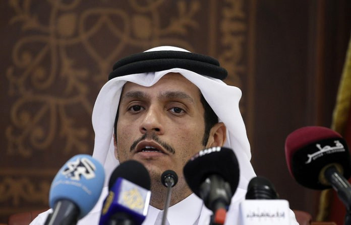 Photo of Double faced zionist Qatari envoy confirms Doha committed to political settlement in Syria