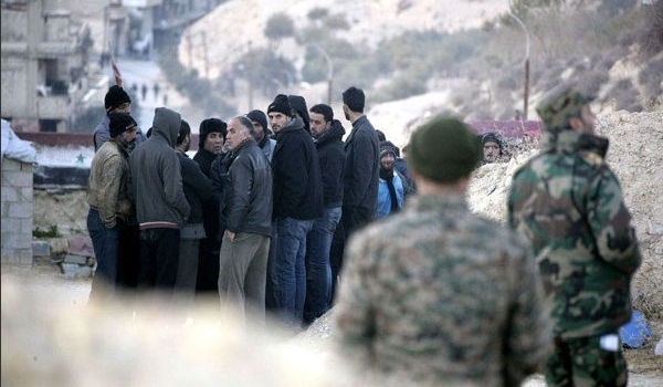Photo of ISIL Terrorists Surrender to Hezbollah in Heights at Syria-Lebanon Border