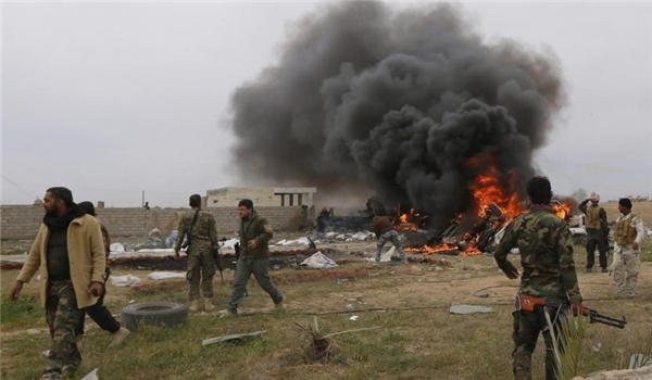 Photo of Tens of Terrorists Killed, Wounded in Bomb Attack on Jeish Al-Islam Commanders' Meeting in Southern Syria