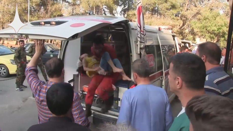 Photo of 5 civilians murdered, 15 injured by terrorist rocket fire in Aleppo
