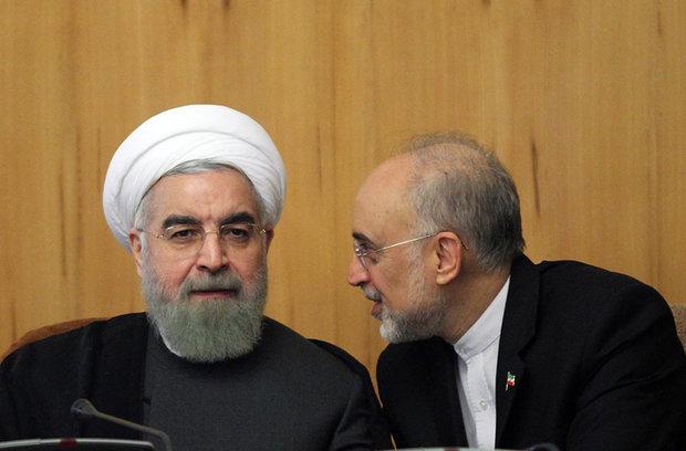 Photo of Iran Pres. Rouhani reinstates Salehi as VP, AEOI head