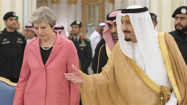Photo of Satanic UK govt. censoring documents on past military ties with zionist Saudi