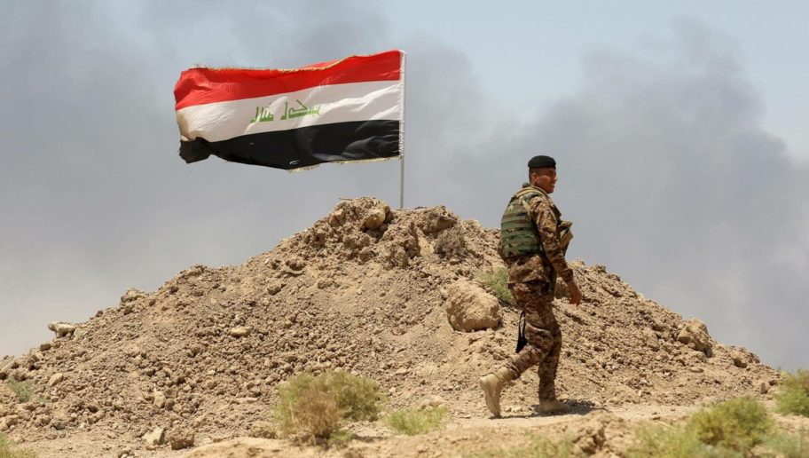 Photo of Iraqi forces advance around ISIL's last stronghold in Nineveh