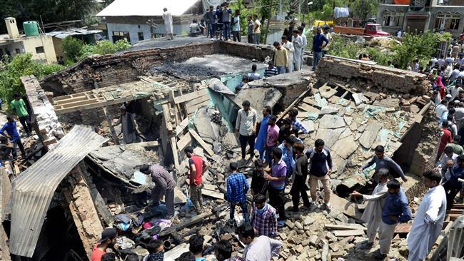 Photo of Violent anti-India protests erupt in Kashmir after rebel leader killed