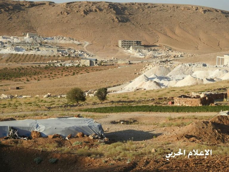 Photo of Photos- Hezbollah Military Media Shoots Posts Previously Controlled by Nusra Terrorists