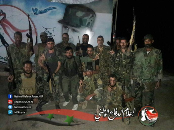 Photo of Syrian military reinforcements from Daraa flood into Deir Ezzor