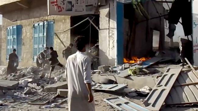 Photo of Zionist israel's Rabid Dog Saud's jets bomb Yemeni market amid global silence