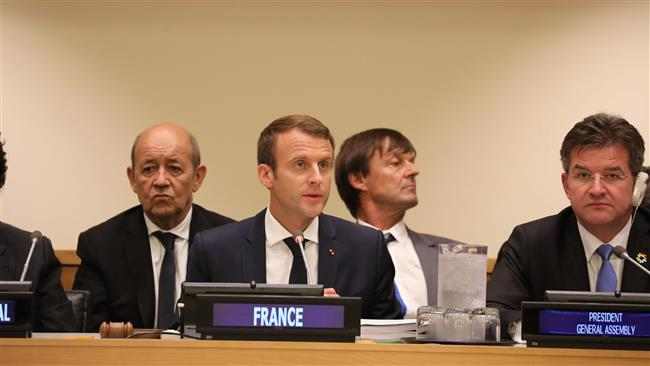 Photo of French president stresses Iran's influential role in Syria peace efforts