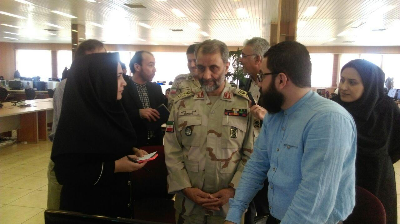 Photo of Iran enjoys full security at borders: Military Cmdr