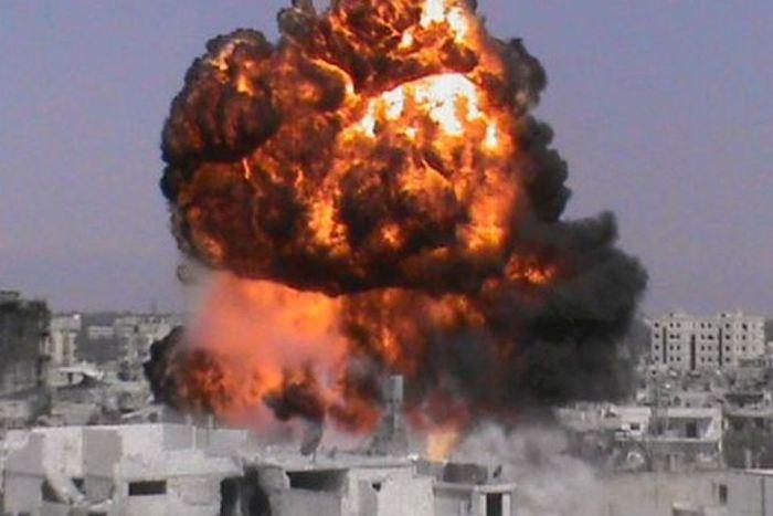 Photo of Entire Al-Qaeda bomb factory self-destructs in Idlib